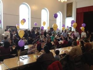 All Souls Church Pierce Hall festivities