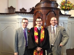 All Souls Church Rob with Chuck and Steve