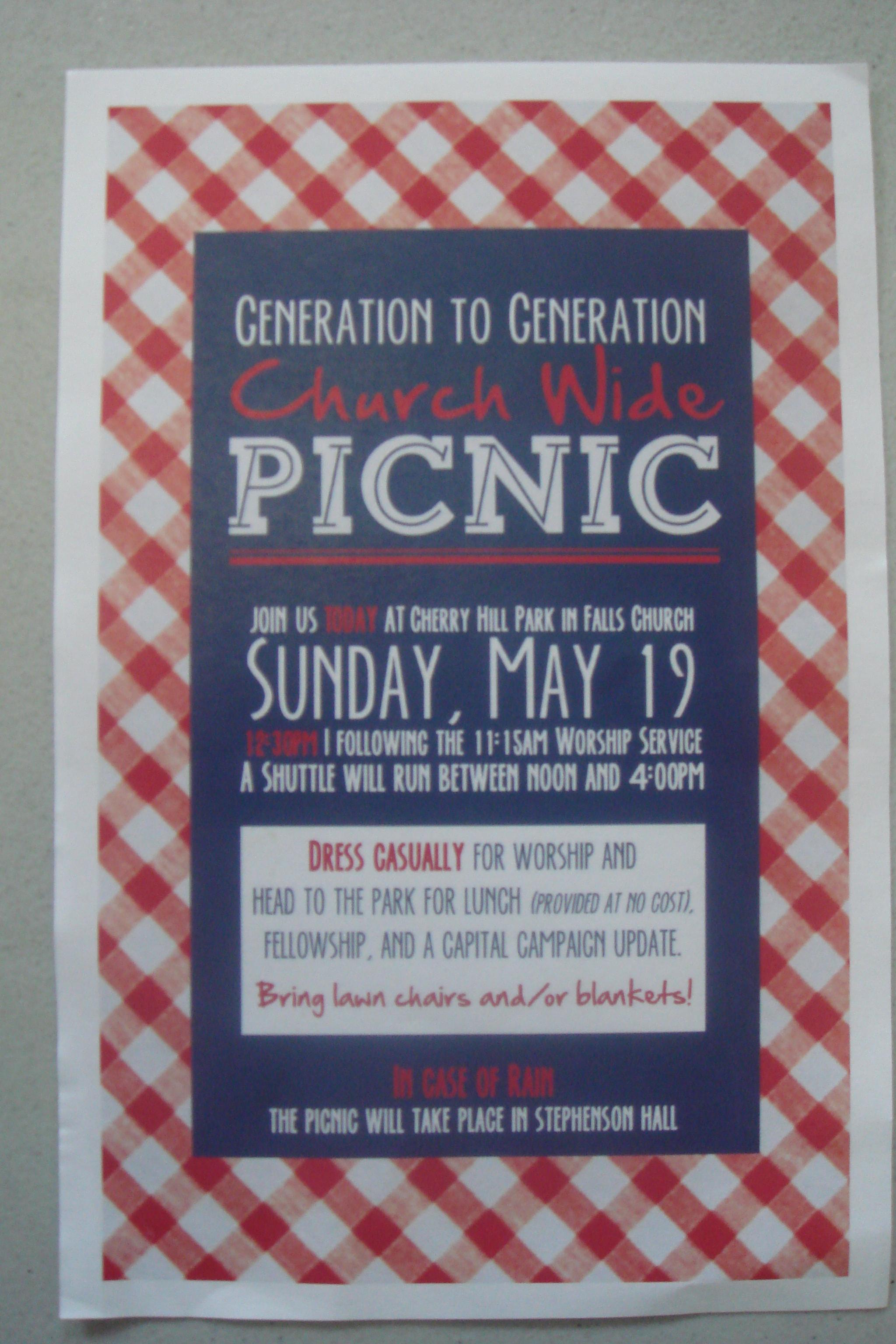 cbc kick off event picnic flyer