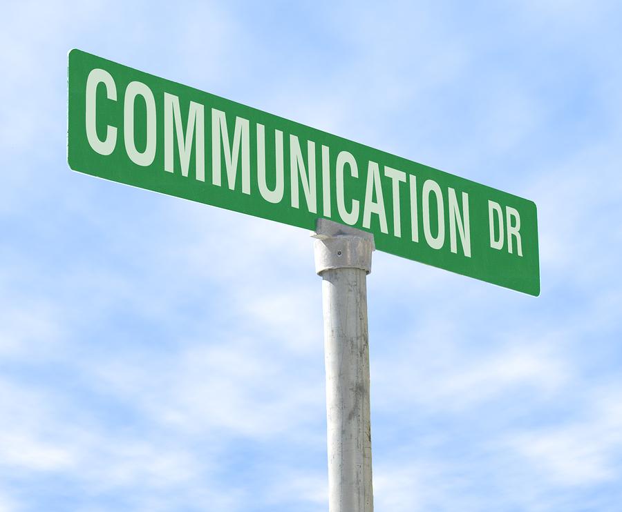 Communication-streetsign