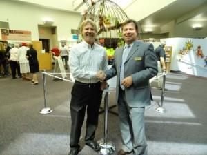 Dr Mark Wickstrom, Senior Pastor, and Glendon Smith, Campaign Consultant