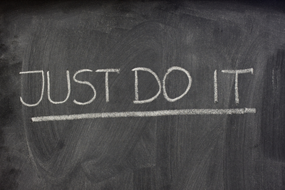 Just Do It on Blackboard